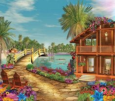 Island Dreams 300 pc Jigsaw Puzzle