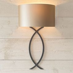 A handmade solid steel wall light with elegant, gentle contemporary curves, suiting a period or modern interior . Traditional Wall Lighting, Indoor Wall Lights, Contemporary Classic, Forged Steel, Steel Wall, Modern Interior, Table Lamp, Glass, Design