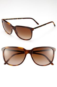 c558b527bcf9 Burberry  Glam Tubular  57mm Sunglasses