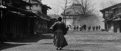 YOJIMBO (1961) Directed by Akira Kurosawa Cinematography by Kazuo Miyagawa