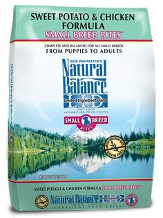 Natural Balance L.I.D. Limited Ingredient Diets Sweet Potato and Chicken Small Breed Bites Formula for Dogs, 12-1/2-Pound Bag ** Check this awesome product by going to the link at the image. (This is an affiliate link and I receive a commission for the sales)