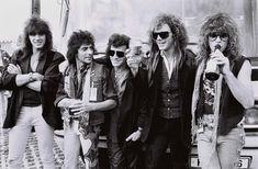 80s Metal Bands, Fab Five, Slippery When Wet, Rock Festivals, Rock Of Ages, Rock Groups, Jon Bon Jovi, Love Of My Life, Rock N Roll