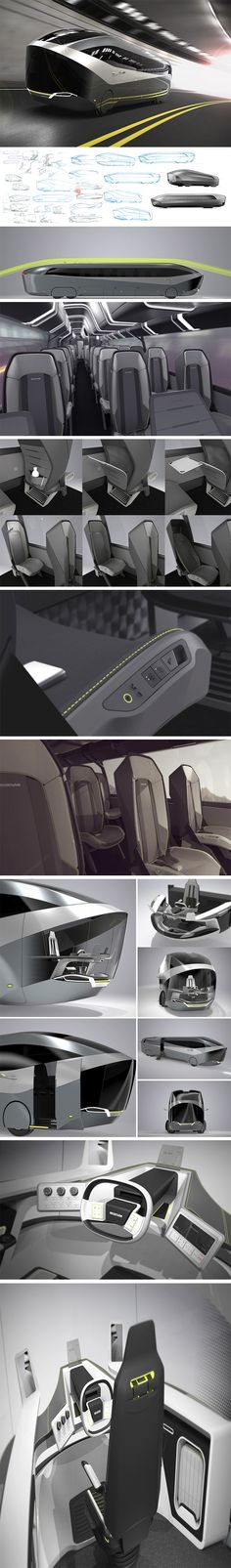 There seems to be a lot of hype and talk about personal autonomous vehicles, and rightly so – but now comes the time for autonomous public transport. And one of the more exciting concepts of late is the Neoplan Aero 24-7. Aero 24-7 is an aerodynamic high-efficiency coach that travels non-stop during night and day. The integrated autonomous driving mode lets the driver take his break while driving.