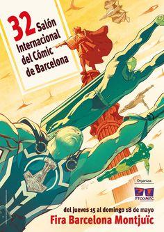 Cartel 32 Salón Internacional del Còmic de Barcelona