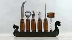Home bar accessory. Vintage bar set. Vintage by VintageLittleGems