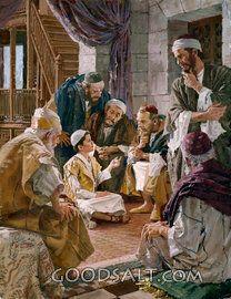 Jesus Speaks to the Learned Pharisees