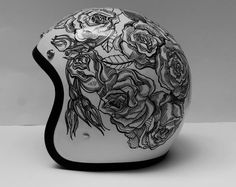 Custom helmet by custom lids keren