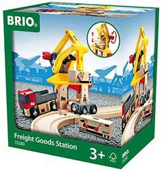 Schylling Brio Freight Goods Station Brio…