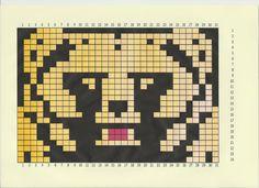 Fair Isle Knitting, Knitting Charts, 9 And 10, Cross Stitch, Crochet, Fictional Characters, Sock, Panda, Bear
