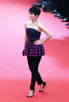 Cannes Film Festival 2013 red carpet gallery - Zhang Ziyi wearing Christian Dior Couture at 'The Great Gatsby' Premiere and Cannes Film Festival Opening Ceremony.