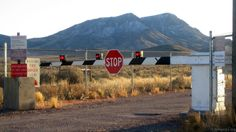 The back gate of Area 51 (Credit: Credit: Wikipedia.org)