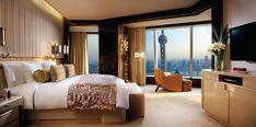 The Ritz-Carlton Shanghai, Pudong - Shanghai Hotels - Shanghai, China - Forbes Travel Guide Modern Bedroom Design, Modern Design, Design 24, Art Design, Shanghai Hotels, Luxury Accommodation, Luxury Hotels, Luxury Bedding, Decoration