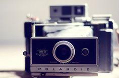 glitteredroses's save of Vintage camera decor- hipster, retro, polaroid, dreamy camera photo, teal, whimsical, geekery, 8x10 print, fine art photography, still life on Wanelo | We Heart It