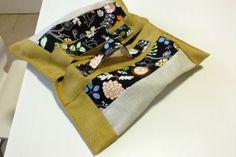 big cake bag! portatorte, con gli scampi ikea in tela di lino