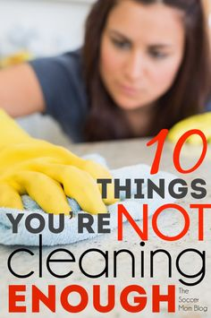 Are you guilty of forgetting about these items and appliances? If you're like me, there are some things at home that you're (probably) not cleaning often enough! Mold, bacteria, and even house fires can be prevented with these quick & easy hacks. Get that DEEP clean feeling for your home (without actually spending all day cleaning!)
