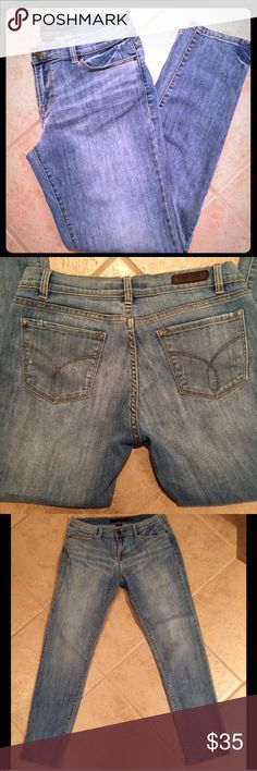 """Calvin Klein Slim Boyfriend Jeans Calvin Klein Slim Boyfriend Jeans  Stylish, lightweight and slightly distressed Boyfriend Jeans that are extremely comfortable. Thankfully for Herbalife I can proudly say these fit too big.  🕊I accept reasonable offers!! I truly do! With the exception of items labeled """"Price Firm""""  🕊Serious buyers please & No Low ballers!  To me it's asking half or more off an item is Low Balling. Calvin Klein Jeans Jeans Boyfriend"""