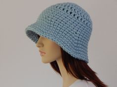Crochet PATTERN PDF, The Rainy Day Bucket Hat, Bulky Winter Hat, Ladies Crochet Hat Pattern, Womens Pattern, Flapper Hat, MarlowsGiftCottage by MarlowsGiftCottage on Etsy