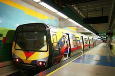 La línea 1 del Metro Los Teques no prestará servicio del 17 al 24 de julio