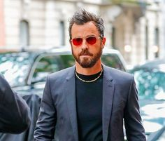 b28b2a1bae Justin Theroux wearing Linnie Rouge  GLCO GarrettLeight