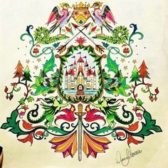 O brasão. ・・・ #oceanoperdidotop #encantadafloresta #floresta_encantadalivre  #inspiracaojardimsecreto #jardimcolorido #florestaencantadatop  #amor_emcores #amor_de_jardim #nossaflorestaencantada #livrocoloriramo #minha_florestaencantada #coloring_secrets  #artecomoterapia #amordejardim #nossaflorestaencantada #jardim_da_isa #terapiacolorida #jardimsecretotop #siaofon_chang #reinoanimaltop  #faber_castell_br #acrilex_oficial #instaDKPM #amopintar #sdv #florestaencantadadkpm #instalove…