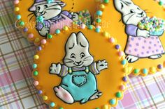 Cookies with Character: My Little Max and Ruby http://kristascookieswithcharacter.blogspot.com/