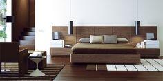 Dormitorio nogal