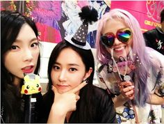 SNSD - YuRi IG Update With Tae and Hyo