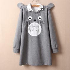 """Cute cartoon totoro students pullover Add discount code """"Char"""" for 10% off your order with Sanrense.com ORDER NOW!!!"""