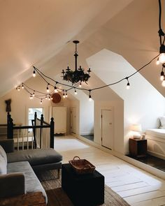 Attic living space attic living rooms, attic spaces, bed rooms, first home, My New Room, My Room, Decoration Inspiration, Decor Ideas, Decorating Ideas, Dream Rooms, First Home, House Rooms, Cozy House