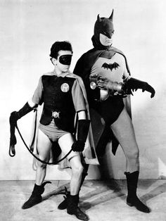Batman and Robin, c.1943  (Still a better story and acting than c. 1997 )