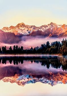 Lake Matheson - New Zealand