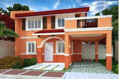 CARINA (4 Bedrooms, Living Area, Dining Area, Kitchen, 2 Toilets & Baths, Provision for Carport & Balcony)