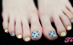 +170 DISEÑOS DE UÑAS PARA LOS PIES | UÑAS DECORADAS - NAIL ART Pretty Toe Nails, Cute Toe Nails, Cute Toes, Pretty Toes, Toe Nail Art, Diy Nails, Manicure Y Pedicure, Girly Things, Girly Stuff