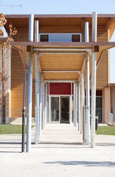 La scuola nel parco - ingresso