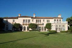 Vera Wang's Oceanfront Villa in Palm Beach