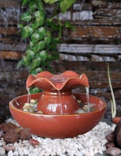 Indoor fountains  - Pin it :-) Follow us, CLICK IMAGE TWICE for Pricing and Info . SEE A LARGER SELECTION of indoor fountains at http://azgiftideas.com/product-category/indoor-fountain/  - gift ideas , home decor   - Welland TS1006C Ceramic Relaxation Tabletop Garden Fountain