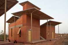 Francis Kere's Opera Village as means of transforming Burkina Faso. This man, his work, I love it all.