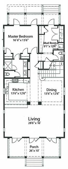 Coastal homes home plans and cottages on pinterest for Bayou cottage house plan