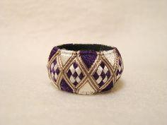 Ma Mercerie: Thimble Design Memo -- Harlequin (or nine-patch diamonds)  design variation
