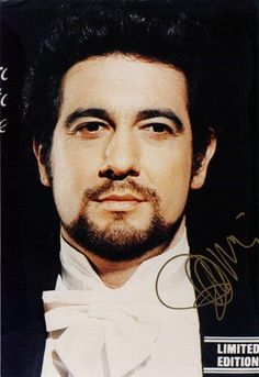 One of my favorite pictures of my favorite opera singer - Placido Domingo