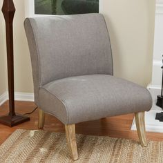 Lark Manor Anae Fabric Slipper Chair & Reviews | Wayfair