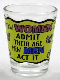 Funny Alcohol Liquor Novelty Shot Glass Collectible New | eBay