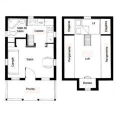 Les micro maisons voient grand for Plan maison deux etages