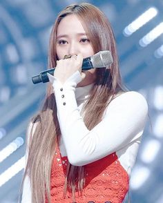 Krystal crying