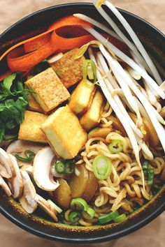 Easy Vegan Shōyu Ramen | Recipe