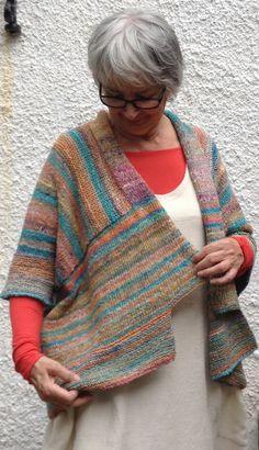 Pattern: Kimono Cardigan | Tall Yarns