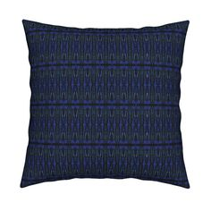 Catalan Throw Pillow featuring KRLGFabricPattern_118C3LARGE by karenspix   Roostery Home Decor