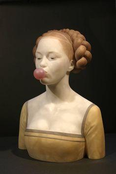 Anachronisme – Les sculptures délicieusement décalées de Gerard Mas (image)