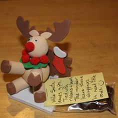 Reindeer Poop (Choc. covered Raisins) Christmas Holiday Gag Gift Ideas