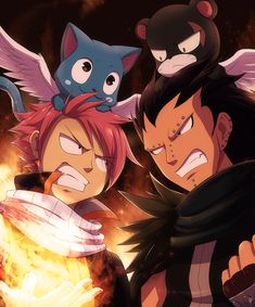 FF: Natsu and Gajeel by DragginCat on DeviantArt